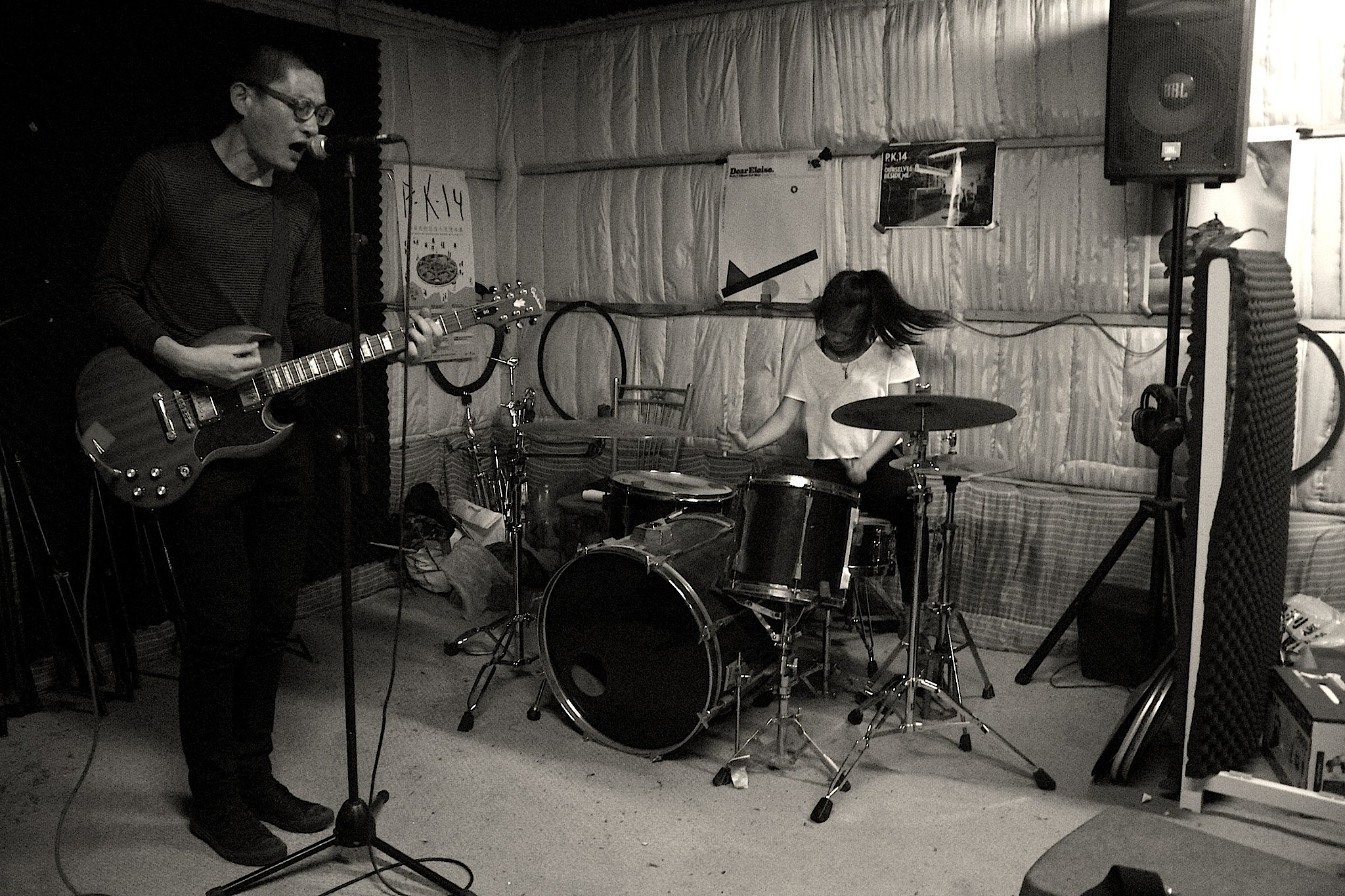 After Argument rehearse at Psychic Kong Studios.