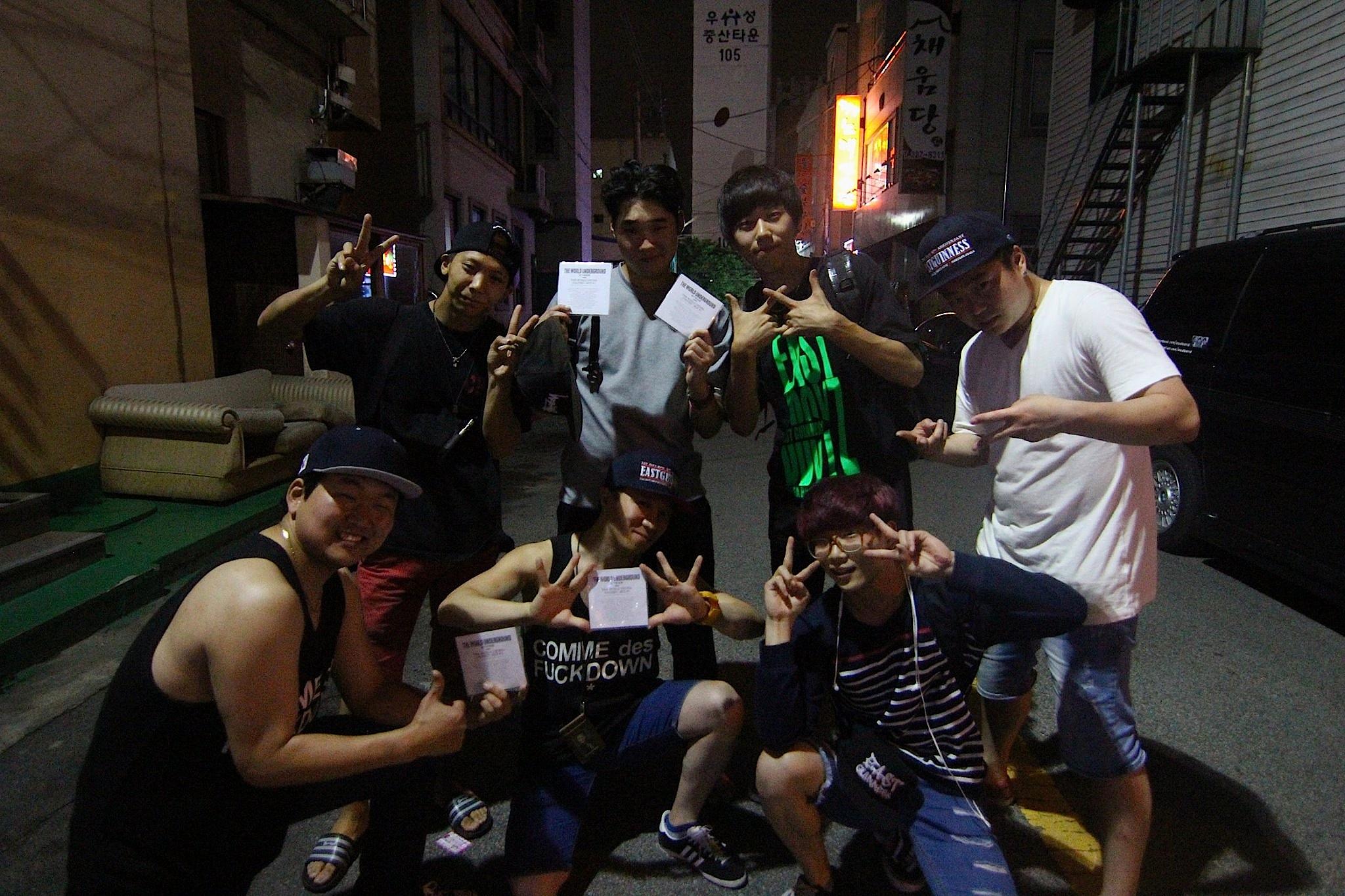 East Guinness Crew - Jeonju