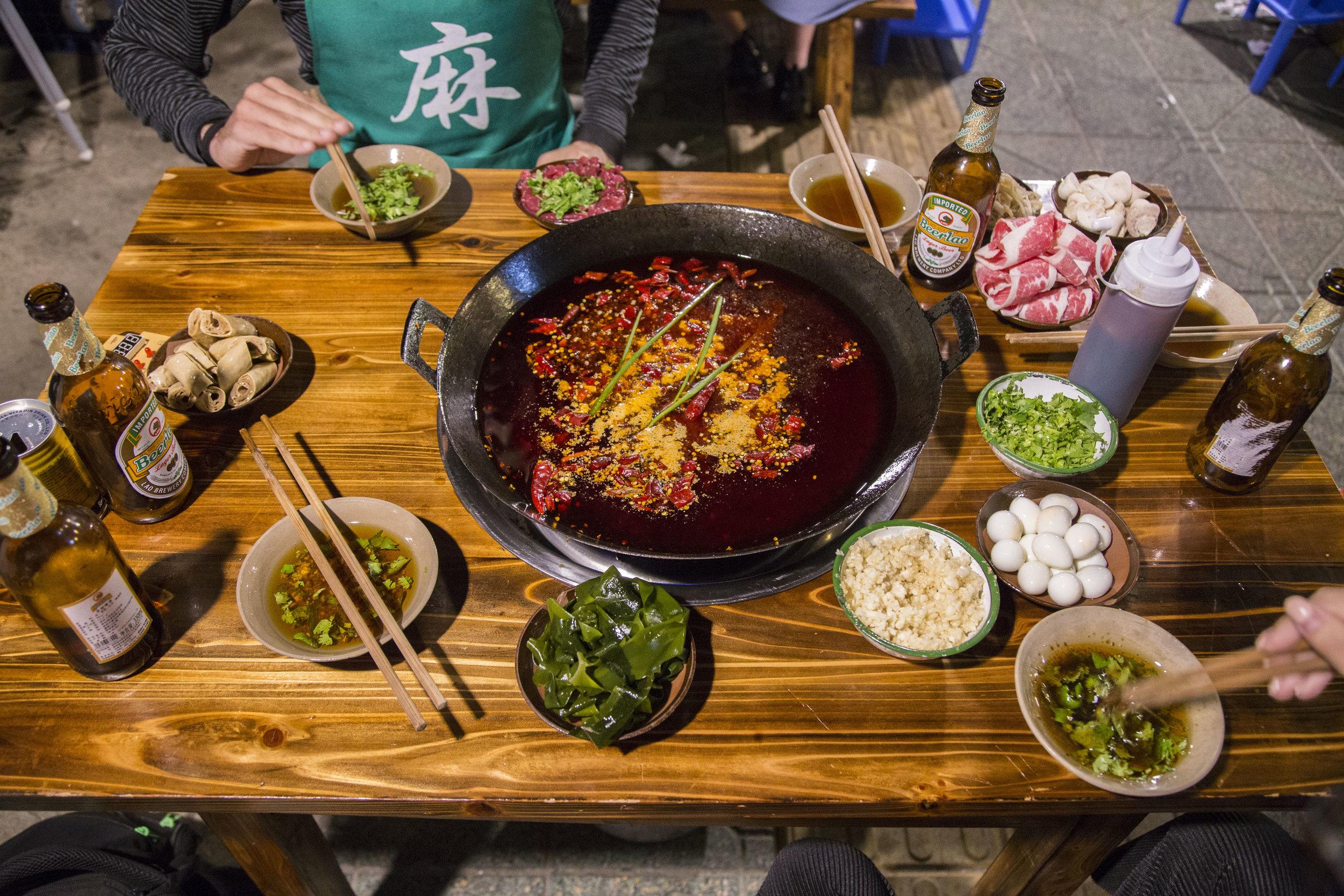 Hot Pot (火鍋) - Spectacular