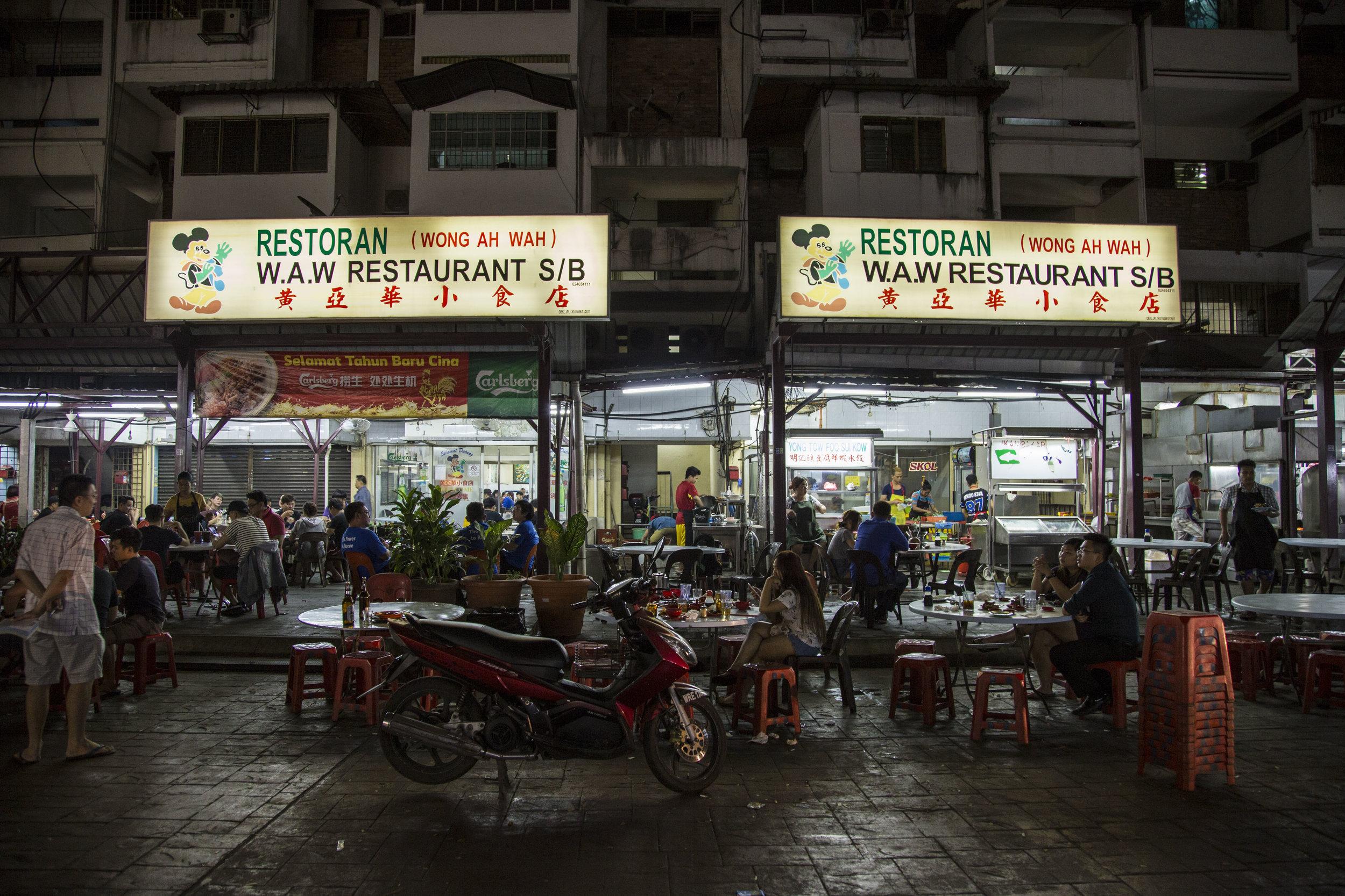 Wong Ah Wah on Jalan Alor