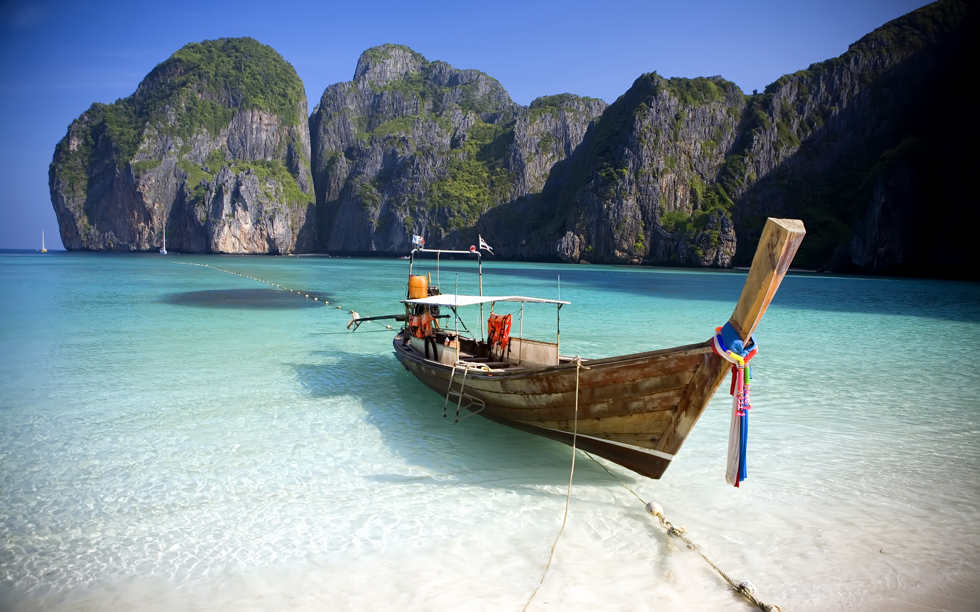 Boat  in Koh Phi Phi
