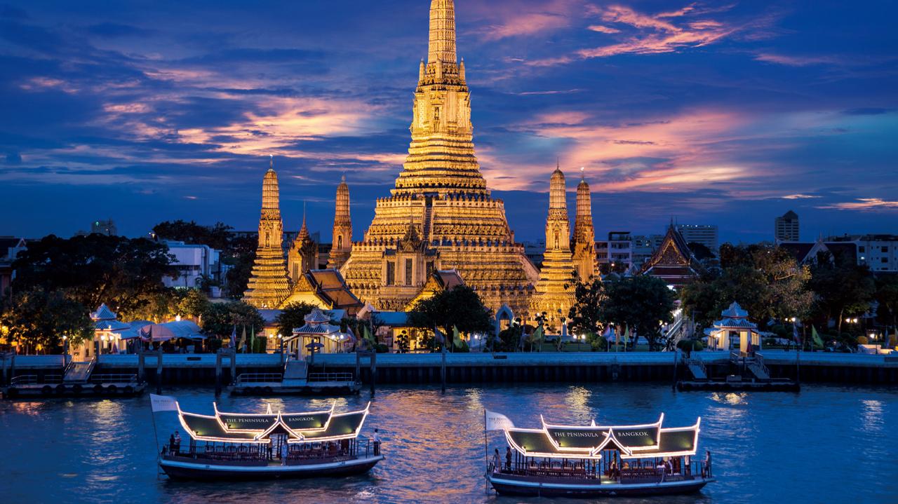 View from the  Bangkok Peninsula  Hotel