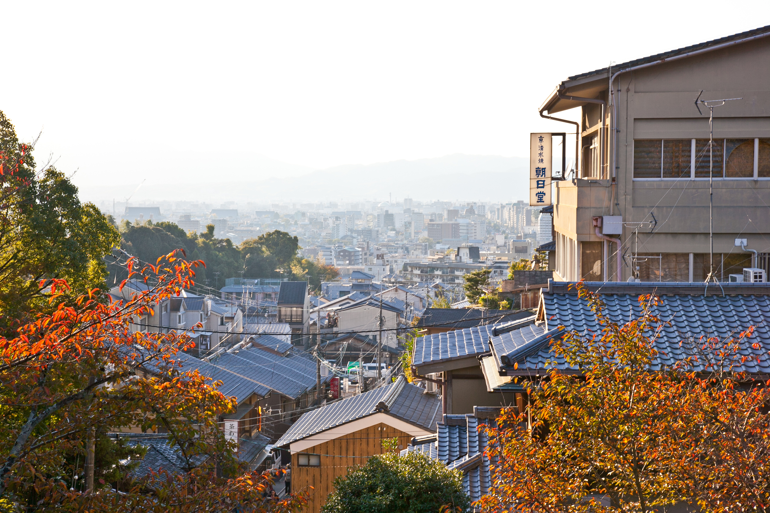 The UNESCO World Heritage site offers sweeping views of Kyoto