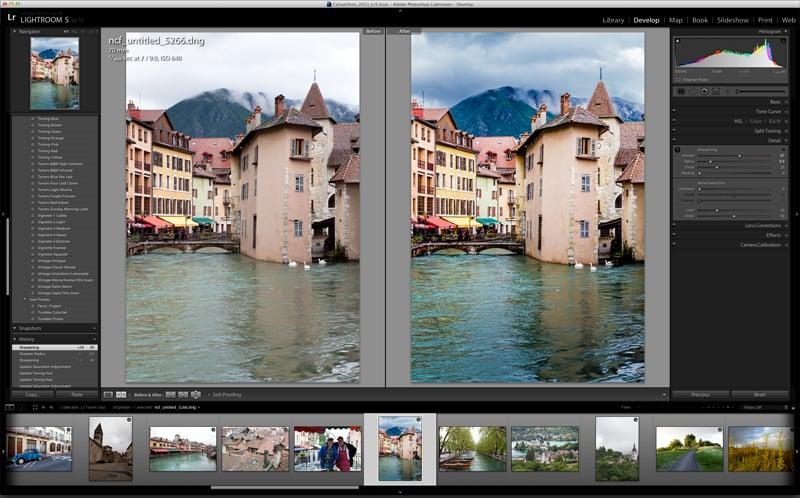 Screenshot of Adobe Lightroom (from  Cracked Tool )