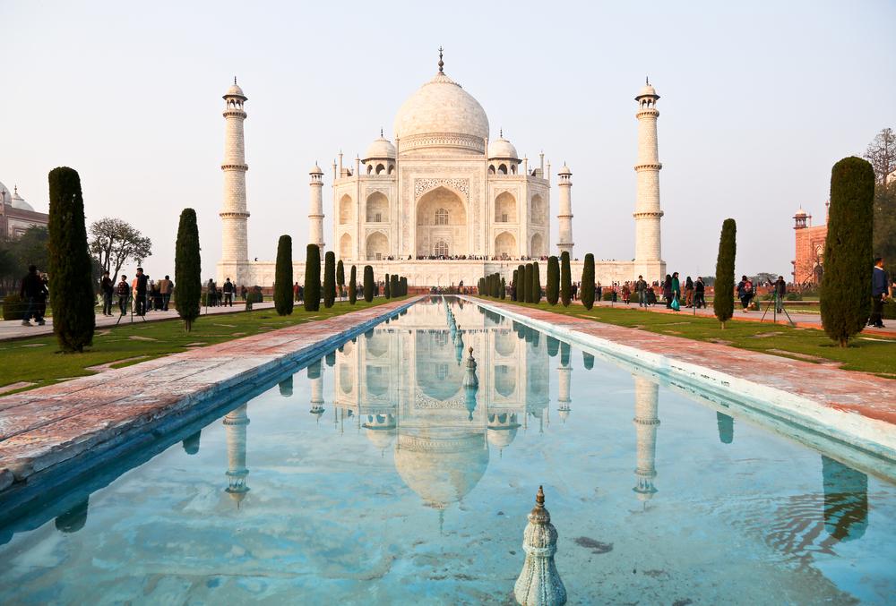 Taj Mahal  via David Kung