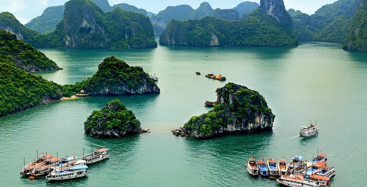 Halong Bay via  Vietnam Travel