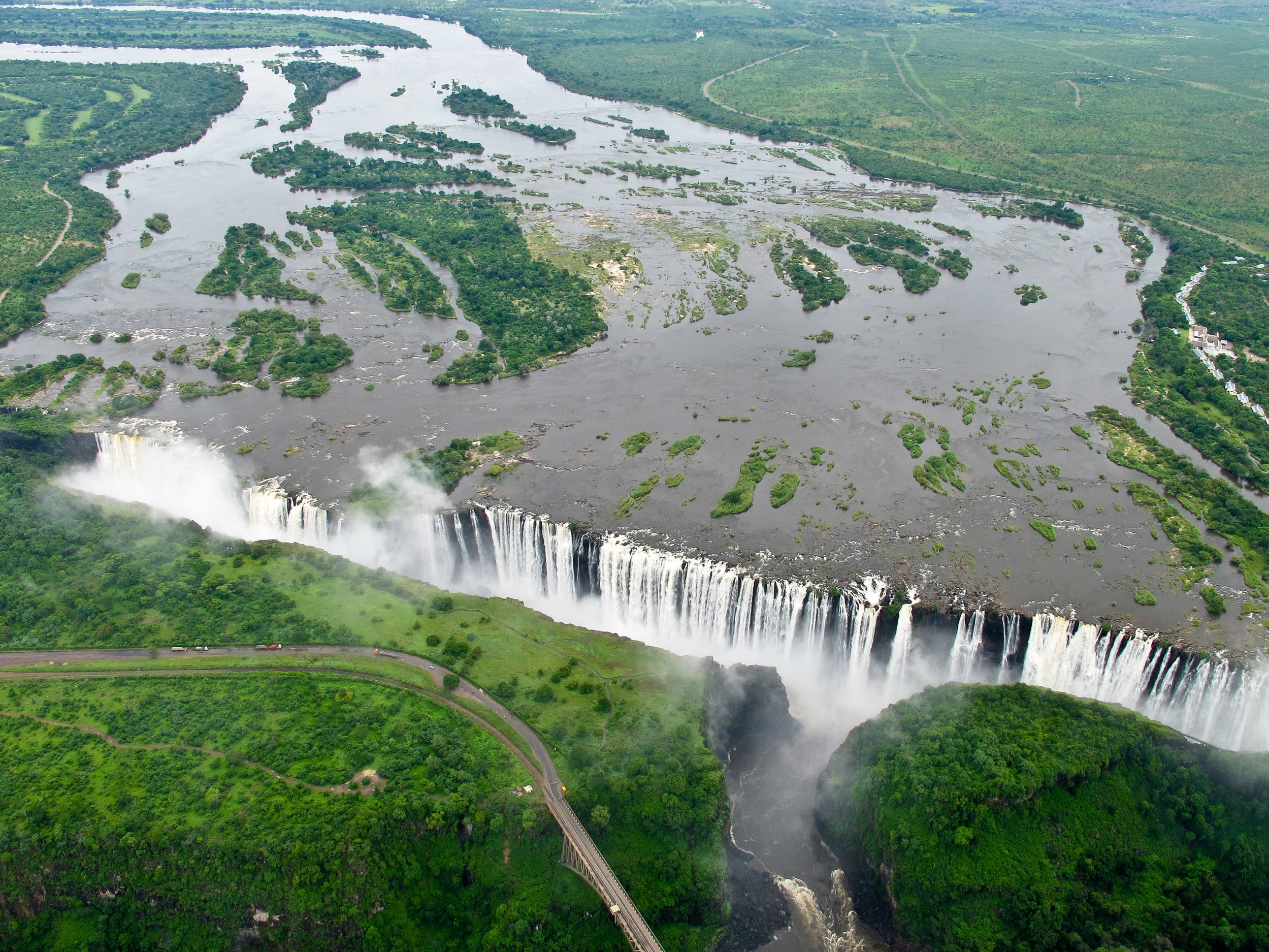 Zimbabwe - This southern African nation is must-see for those caravanning through the region. The country is home to popular destinations such as Victoria Falls (which straddles the border with Zambia) and the archaeological remains of Great Zimbabwe.