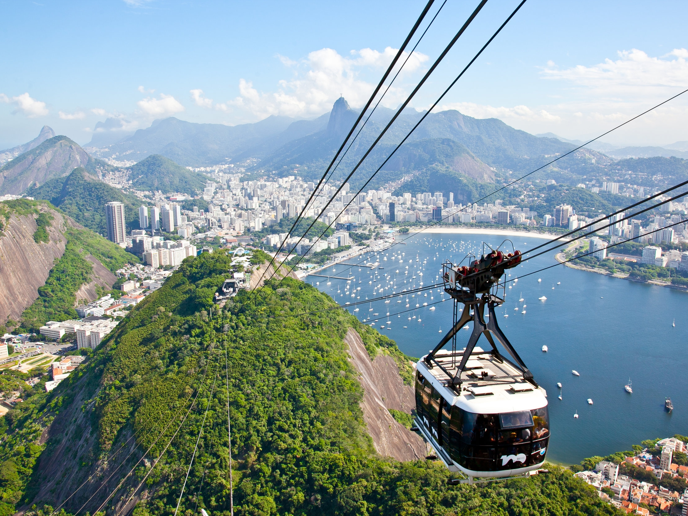 Rio de Janerio - Most famous for its iconic landscapes and breathtaking views, travelers are no less enthralled by Rio's popular beach culture, passionate futbol frenzy and vibrant nightlife - not to mention the surrounding parks, endless outdoor activities, and delicious food.