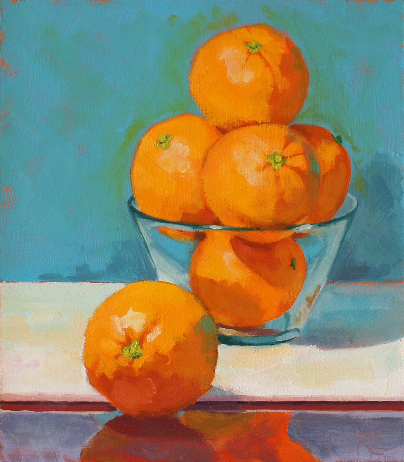 Orange Over Board by Rob Lunn.