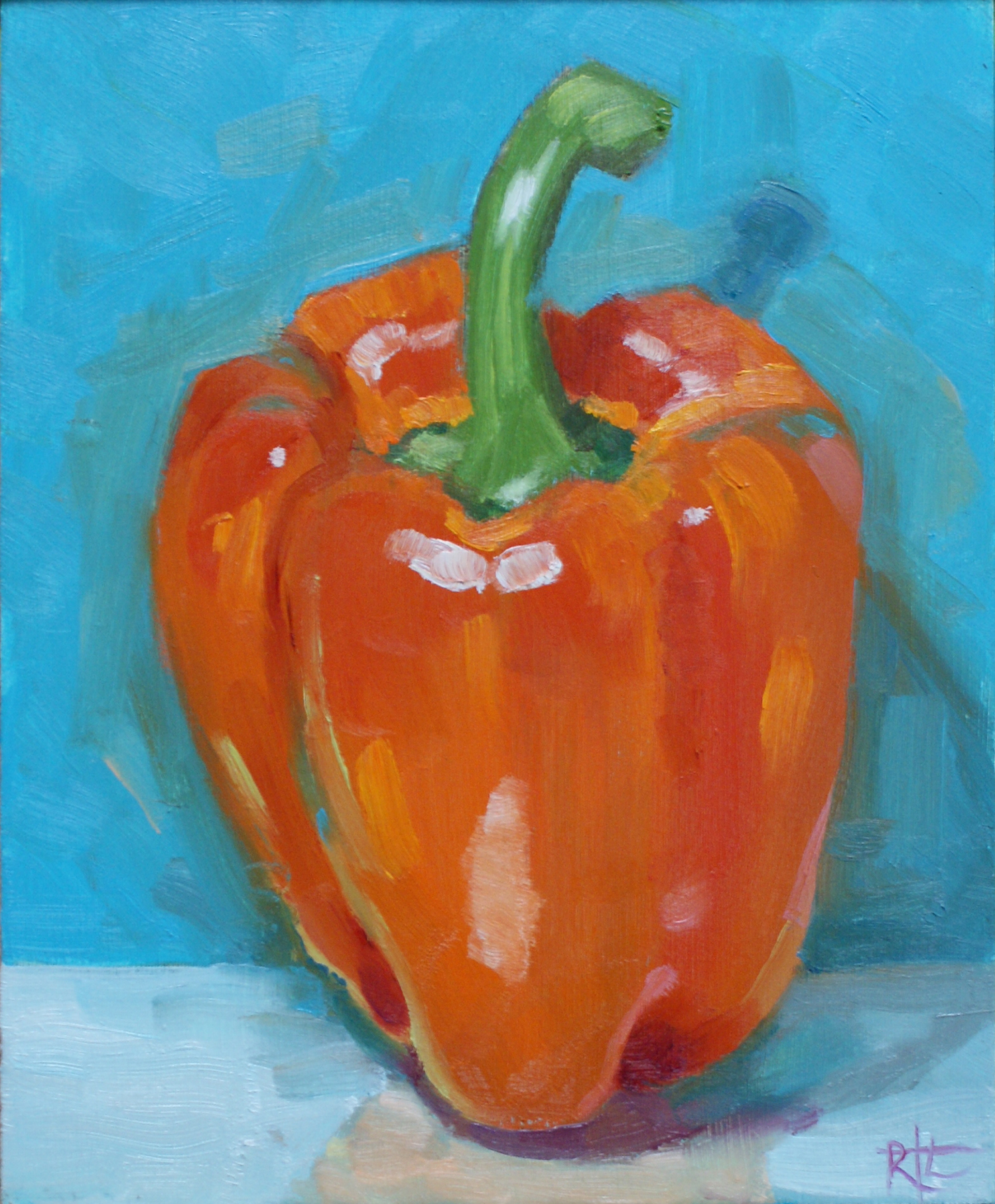 Red Pepper 01 by Rob Lunn