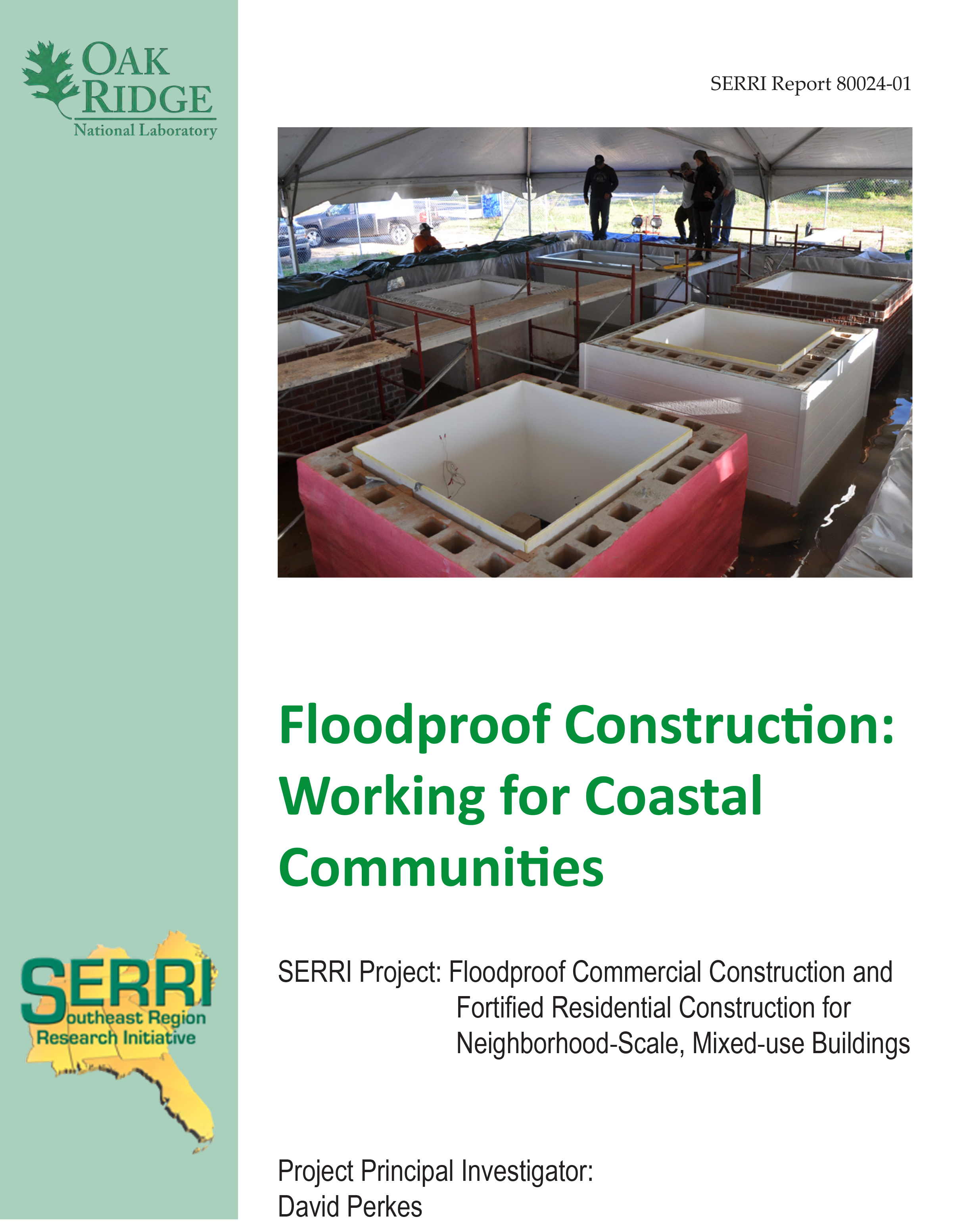 To download a copy of the Flood Proof Construction Guide click on the image.