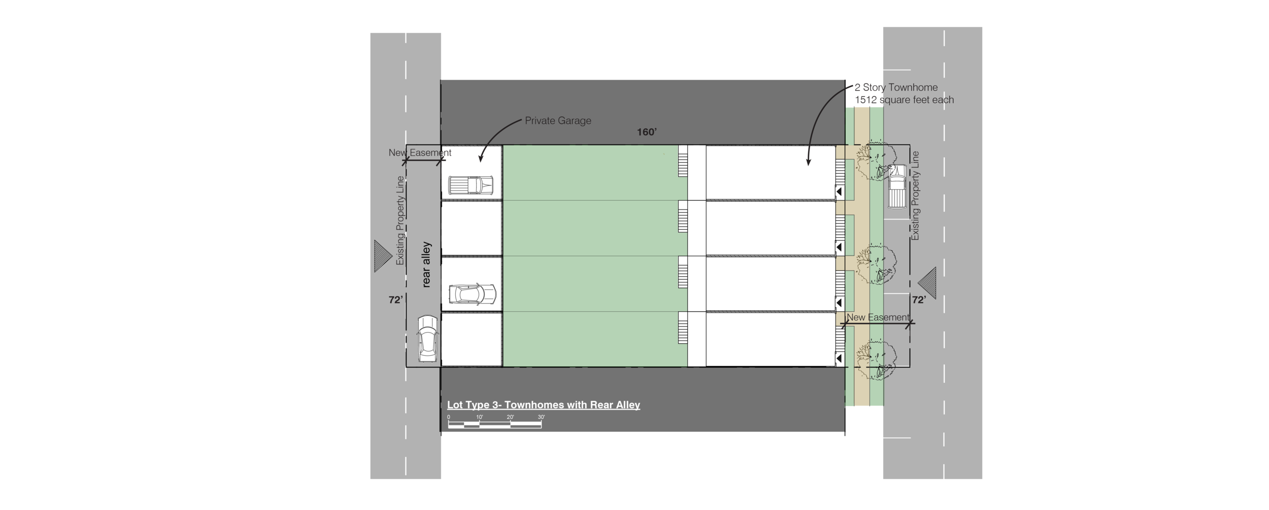 Lot 3 Townhomes with rear parking.png