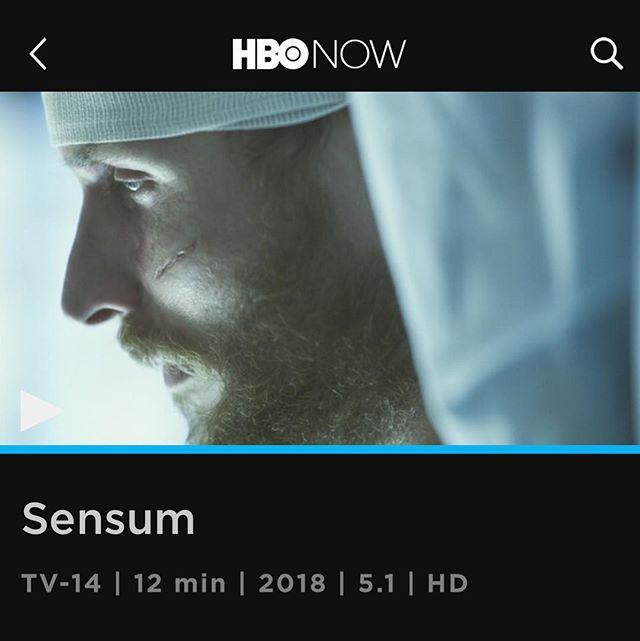 SENSUM - the short film I directed as a participant in the Warner Bros. Emerging Film Directors Workshop dropped on HBO GO and HBO NOW! Thankful to all the incredible collaborators, cast, crew and fabulous Warner Bros. Employees who helped bring this film to actualization. Since shooting this a year ago, so much has changed in my life and I'm forever grateful for this opportunity. . . . . #femalefilmmakerfriday #sensum @wbpictures #wbpictures #warnerbros #hbo #womeninfilm @hbo2go @hbo #hbonow #scifi #directorslife #directing #director