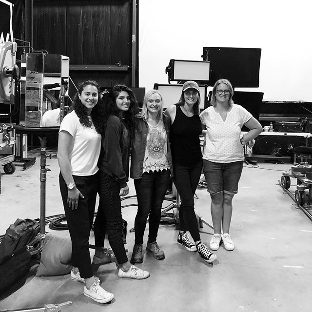 Female Filmmaker Friday with these badass storytellers! #femalefilmmakerfriday #mainemediaworkshops #cinematography #lighting #directorslife #maine #summer
