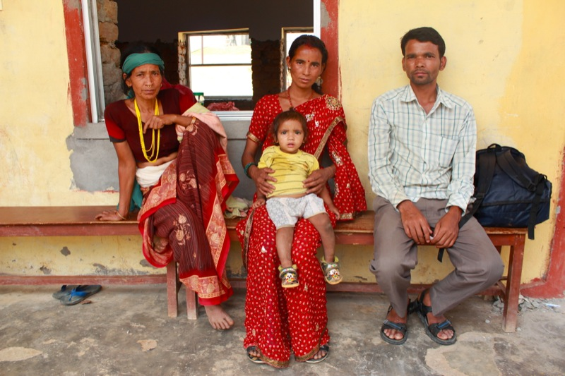 Nyaya Health Sanga Dharna (Waiting together) by Nyaya Health