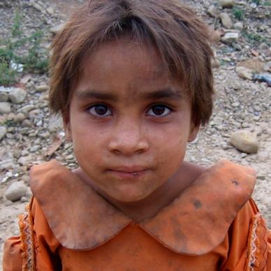 7-year-old Hima   photo courtesy ofblinknow.org