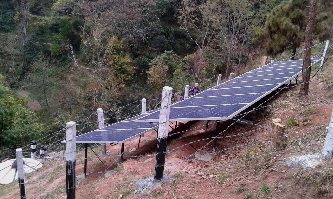 Chaura Rural Solar Water Drinking Project