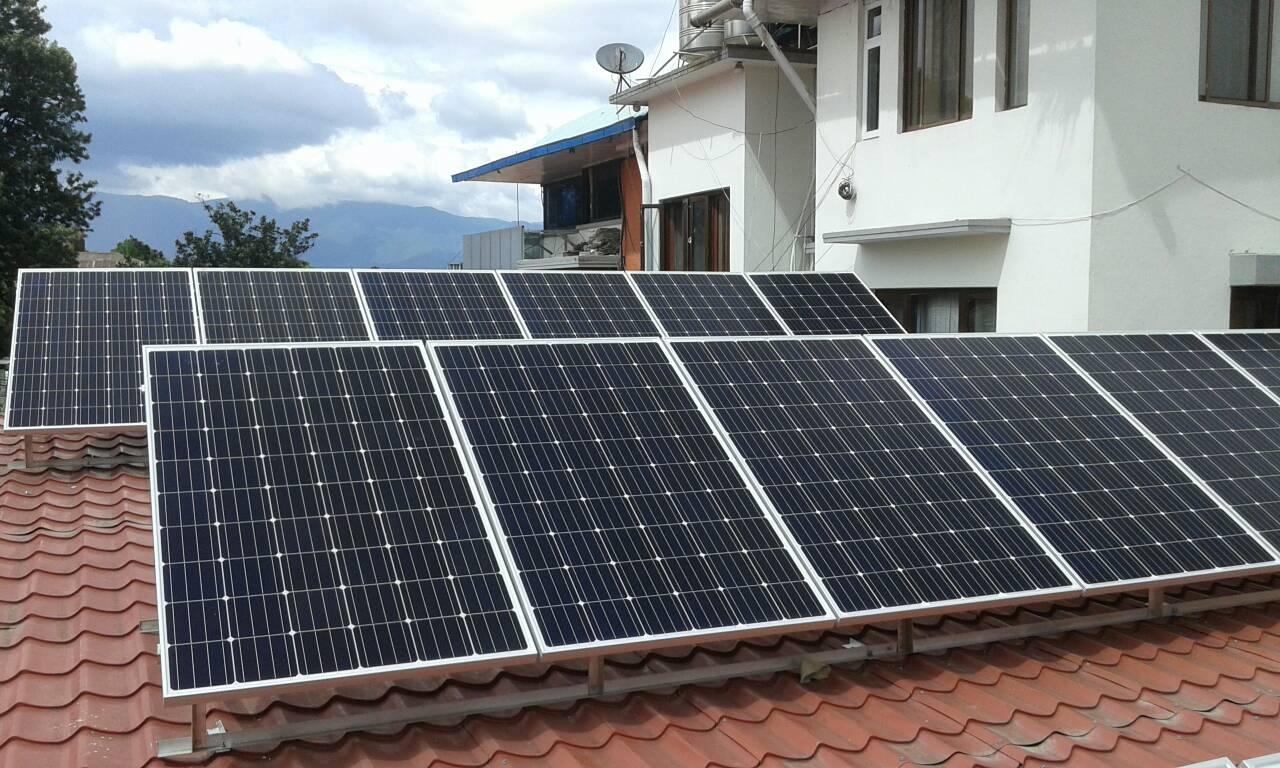 Panchakanya Head Office  - SFN installed 5.2 kWp solar system at the head office of Panchakanya Group located at Hariharbhawan, Lalitpur.
