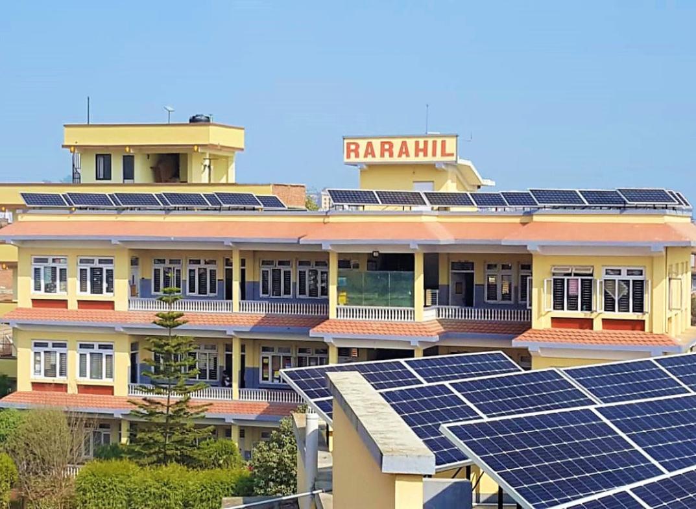 Rarahil Memorial School 40 kWp Project