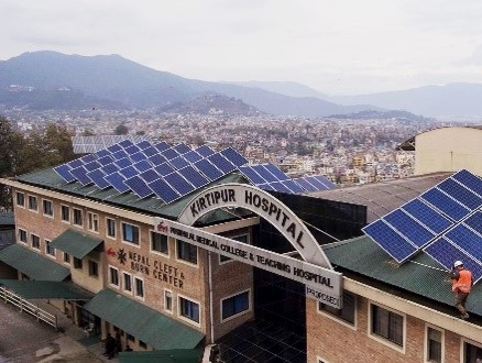 Kirtipur Hospital 66.78 kWp Project