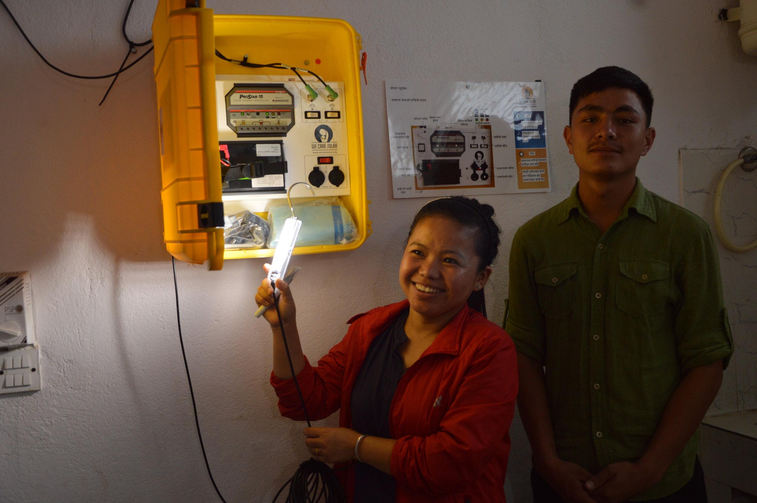 Solar Suitcase Project