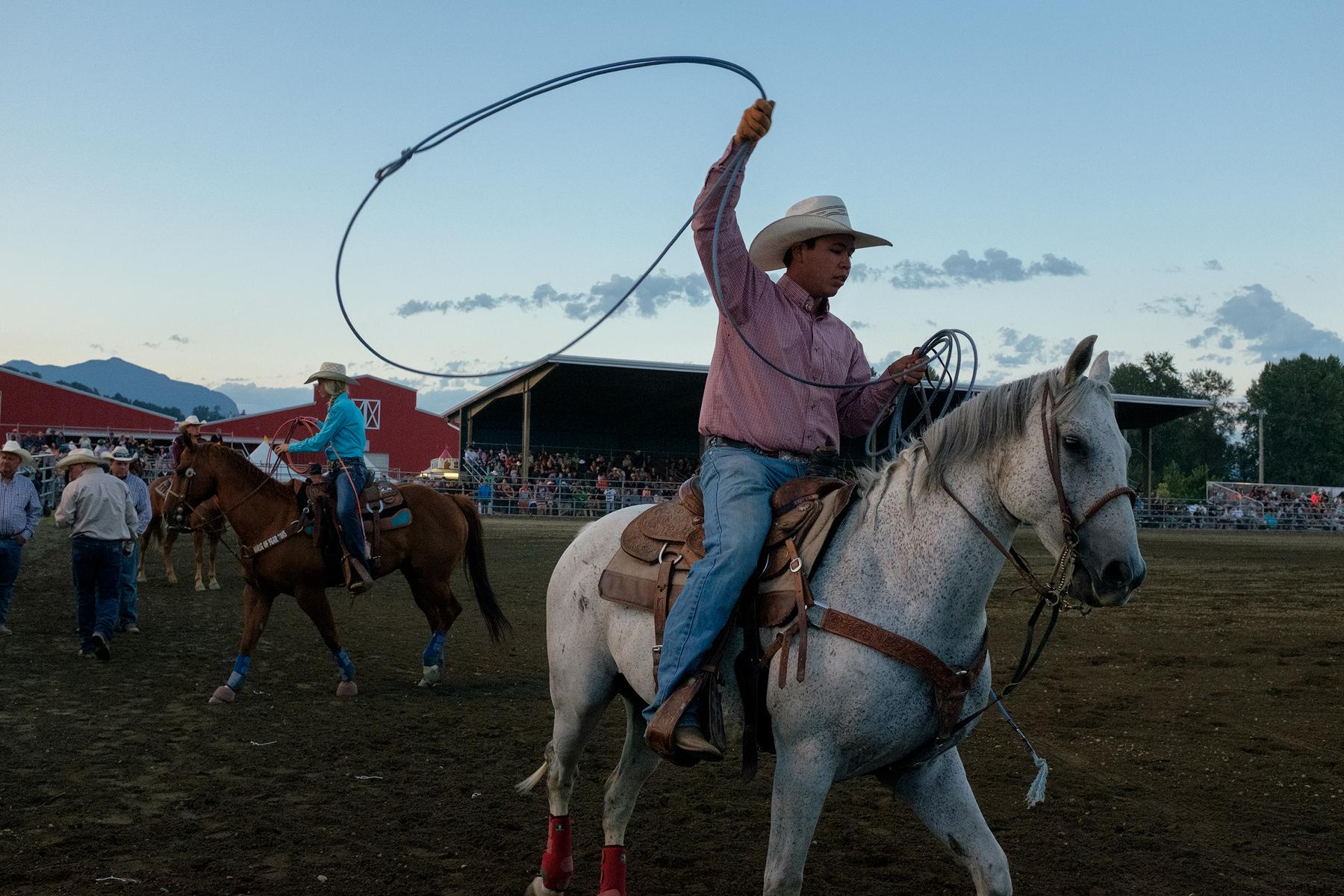 Chilliwack Rodeo  Chiliwack, British Columbia, Canada  Image ©Connor Stefanison