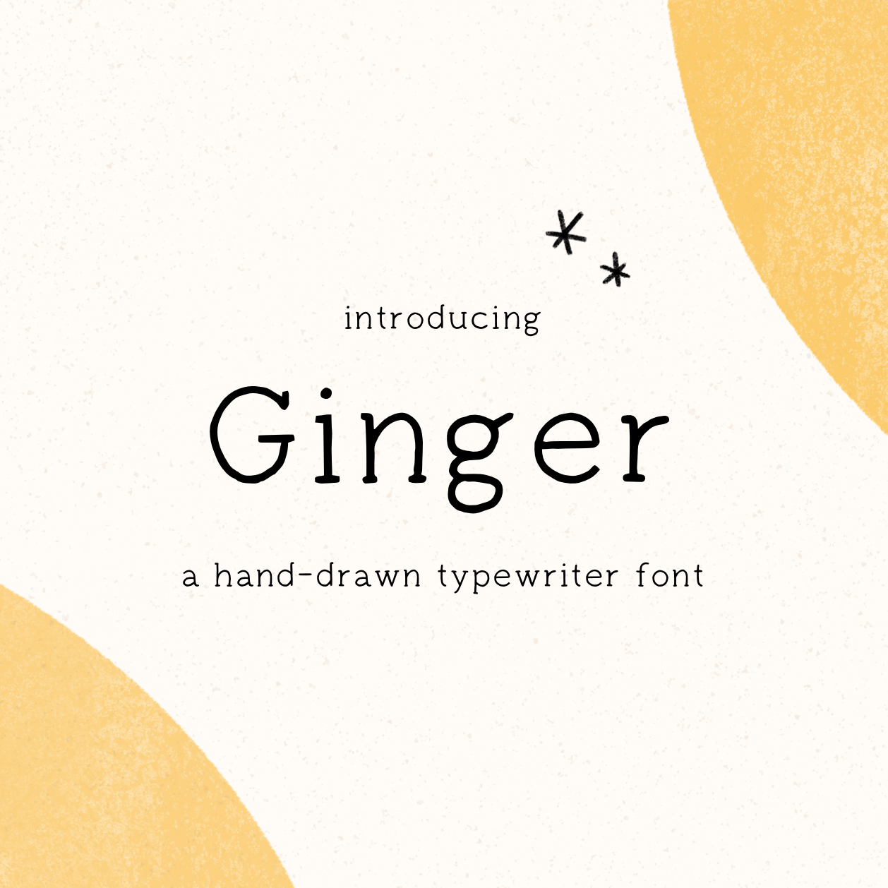 Ginger Font by Minna May