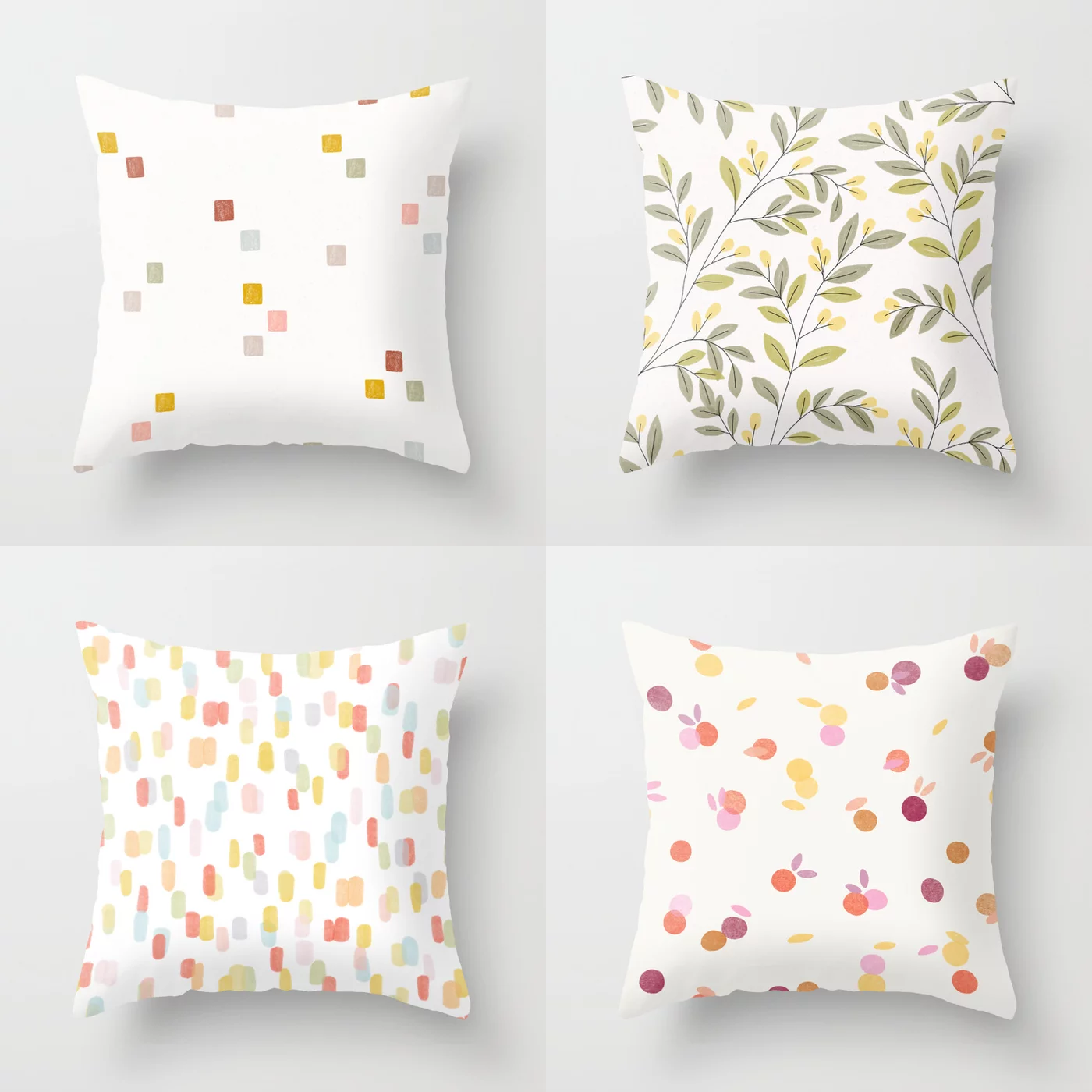 Minna So Pattern Design Pillow Case Samples
