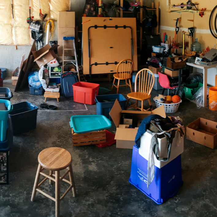 A typical day in the garage