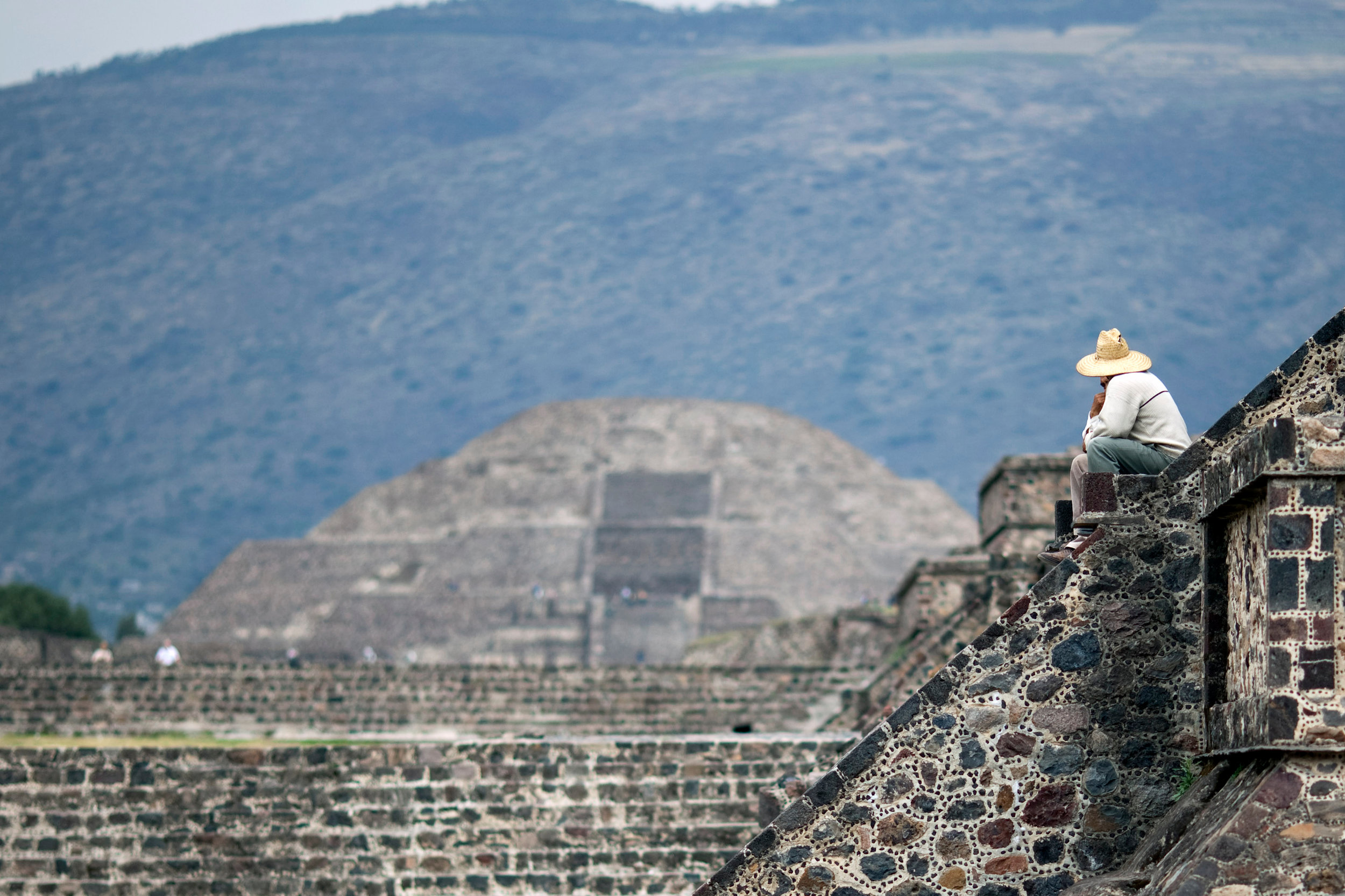 A somber sombrero in Mexico. We have visited twice. The Mexicans I have gotten to know spread joy and are a pleasure to be around. Why build walls when you can build bridges.