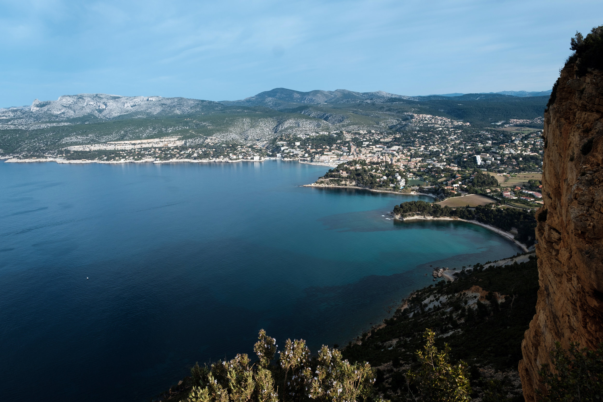 Cote d'azur, Southern  France , Casis. You have to see it to believe it   FUJIFILM X-Pro2,    XF 14mm f/2.8 R