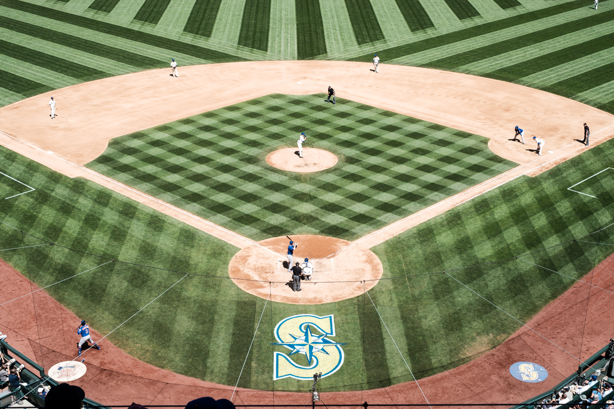Mariners Baseball at Safeco Field in Seattle