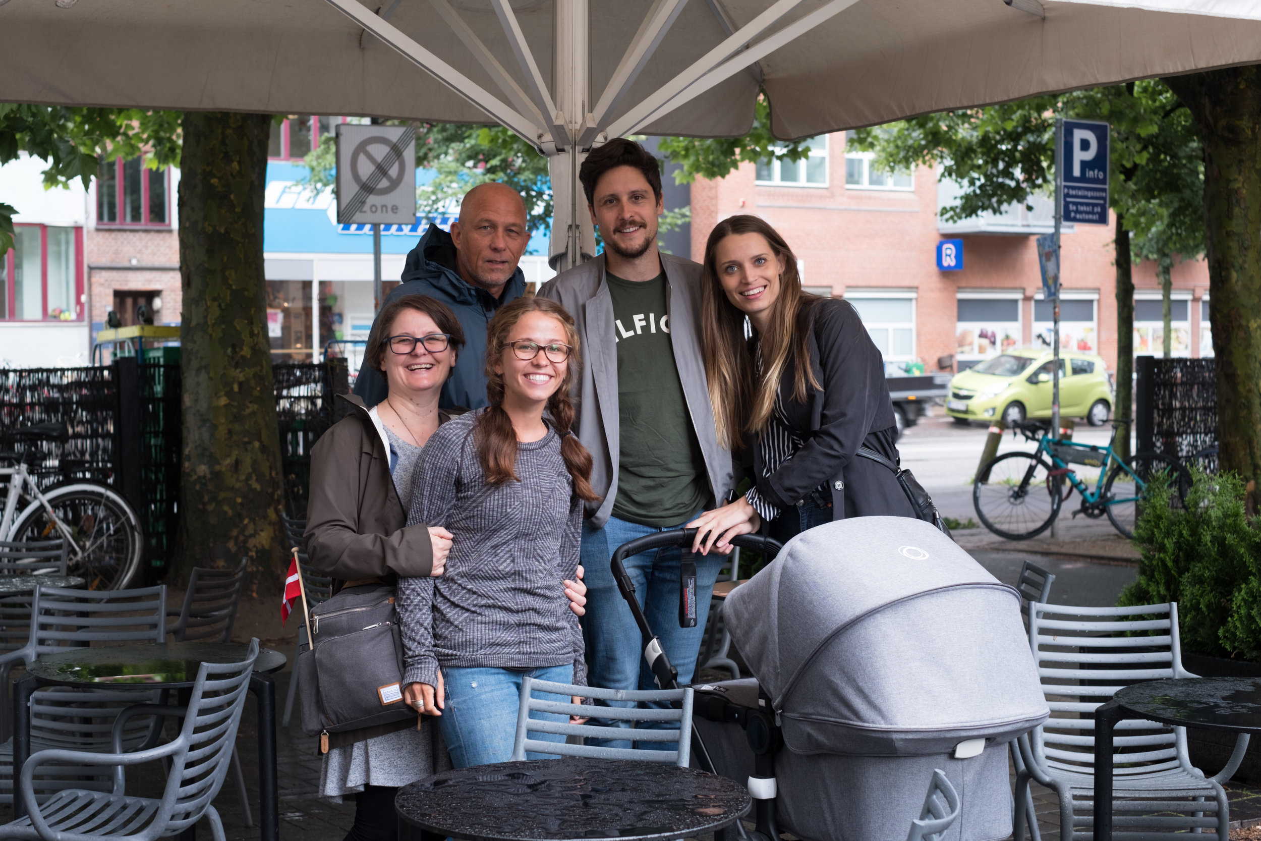 Meet up with Nikolai and Malene and introduction to new baby girl. We also had a first introduction to Jonas and Maja's new baby girl, Victoria.
