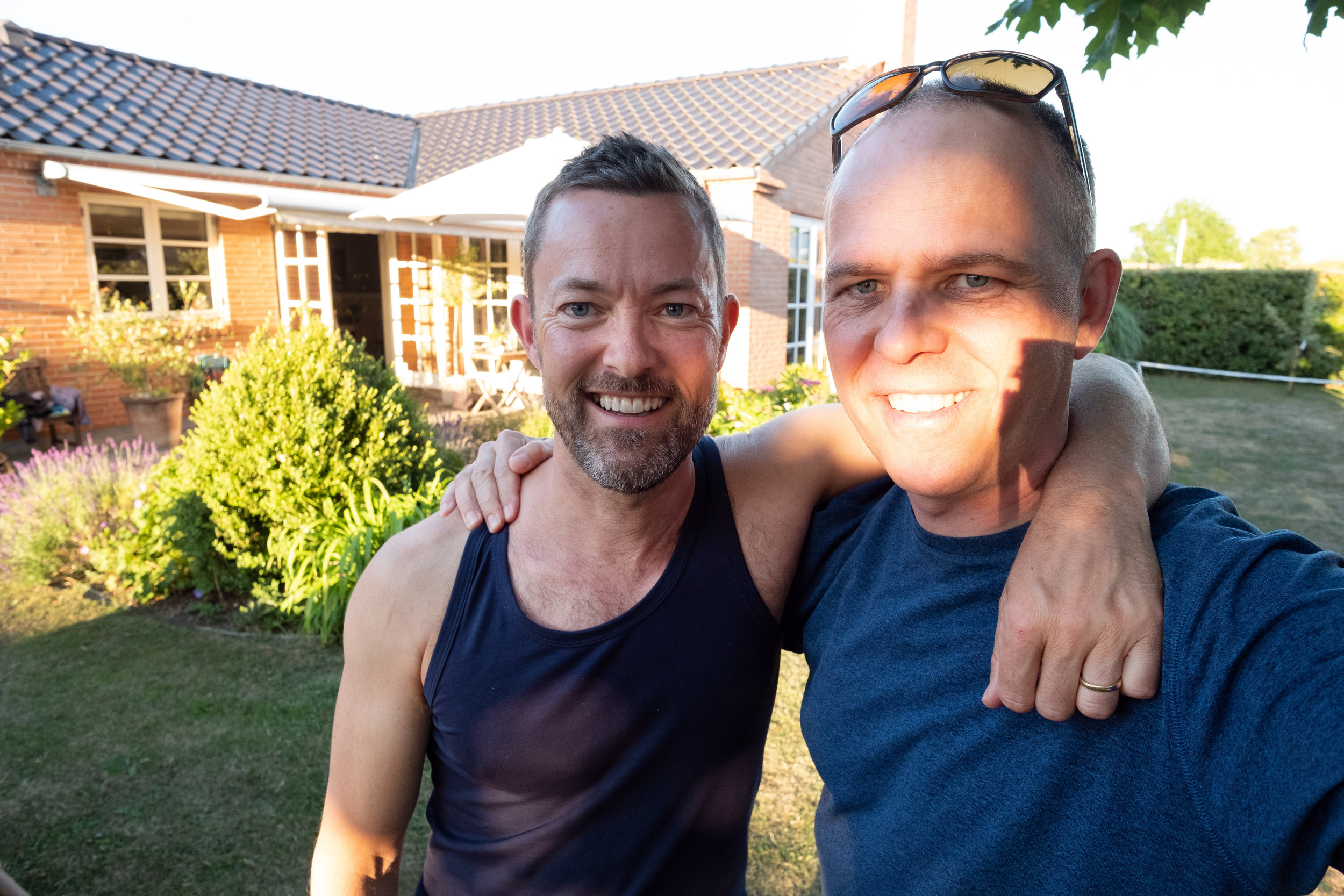 Selfie time with my cousin Uffe