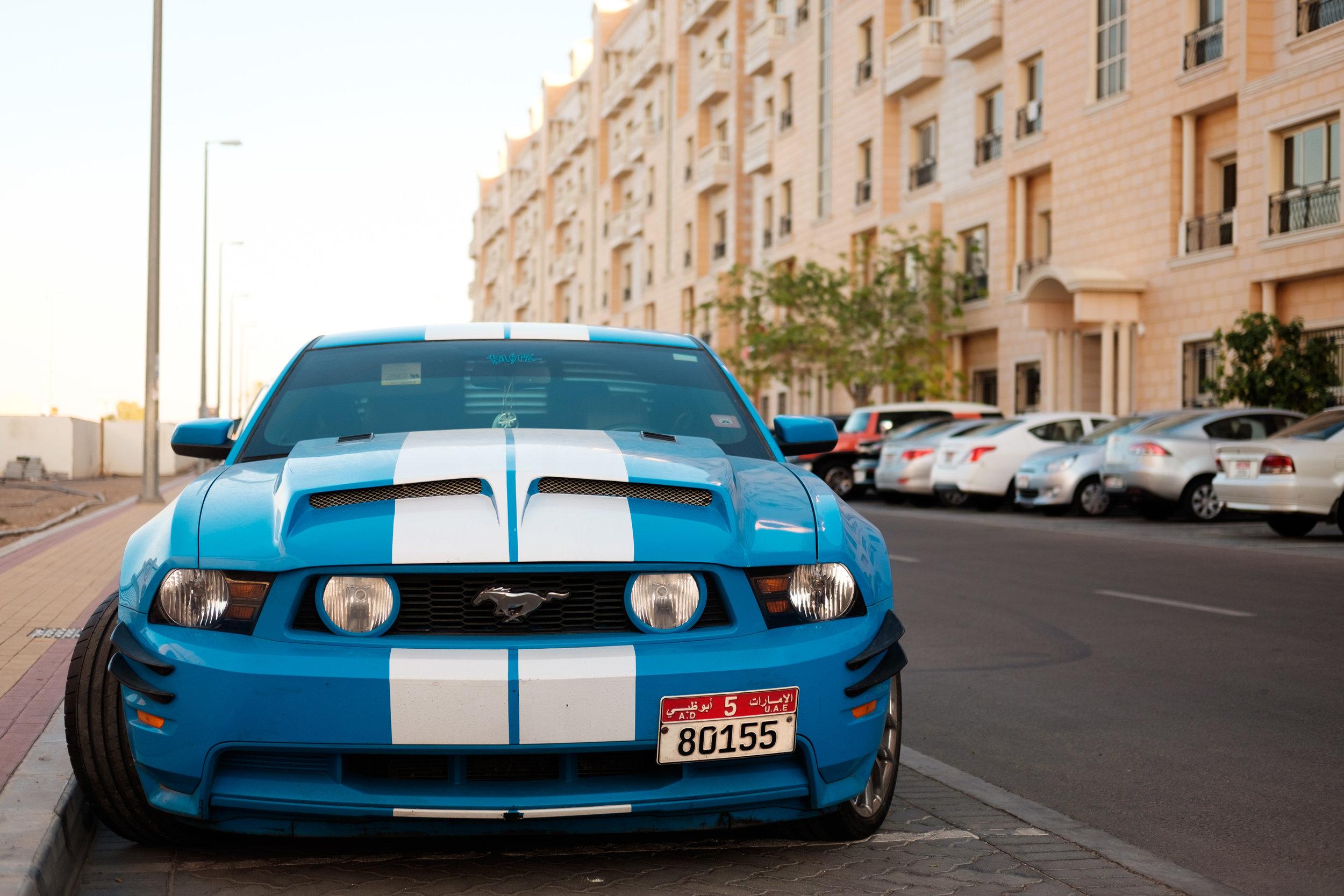Ford Mustang in Al Ain