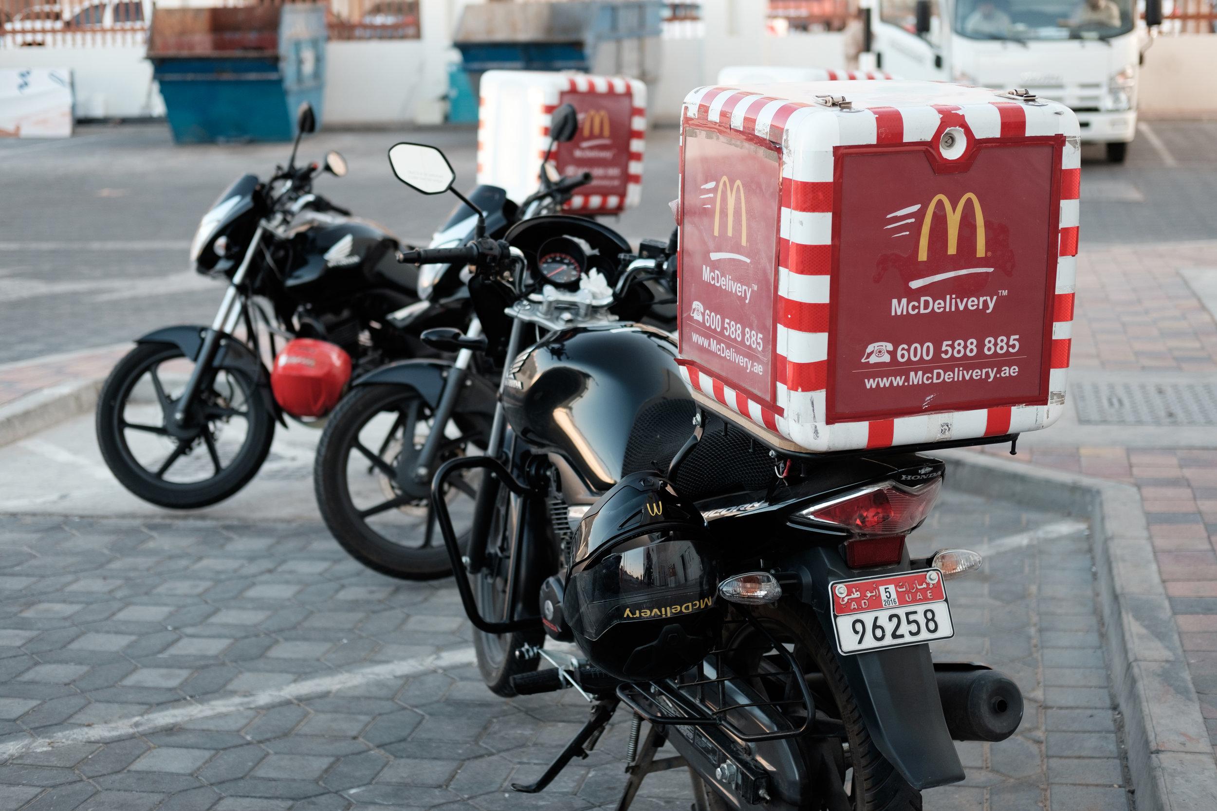 McDonalds Delivery Al Ain