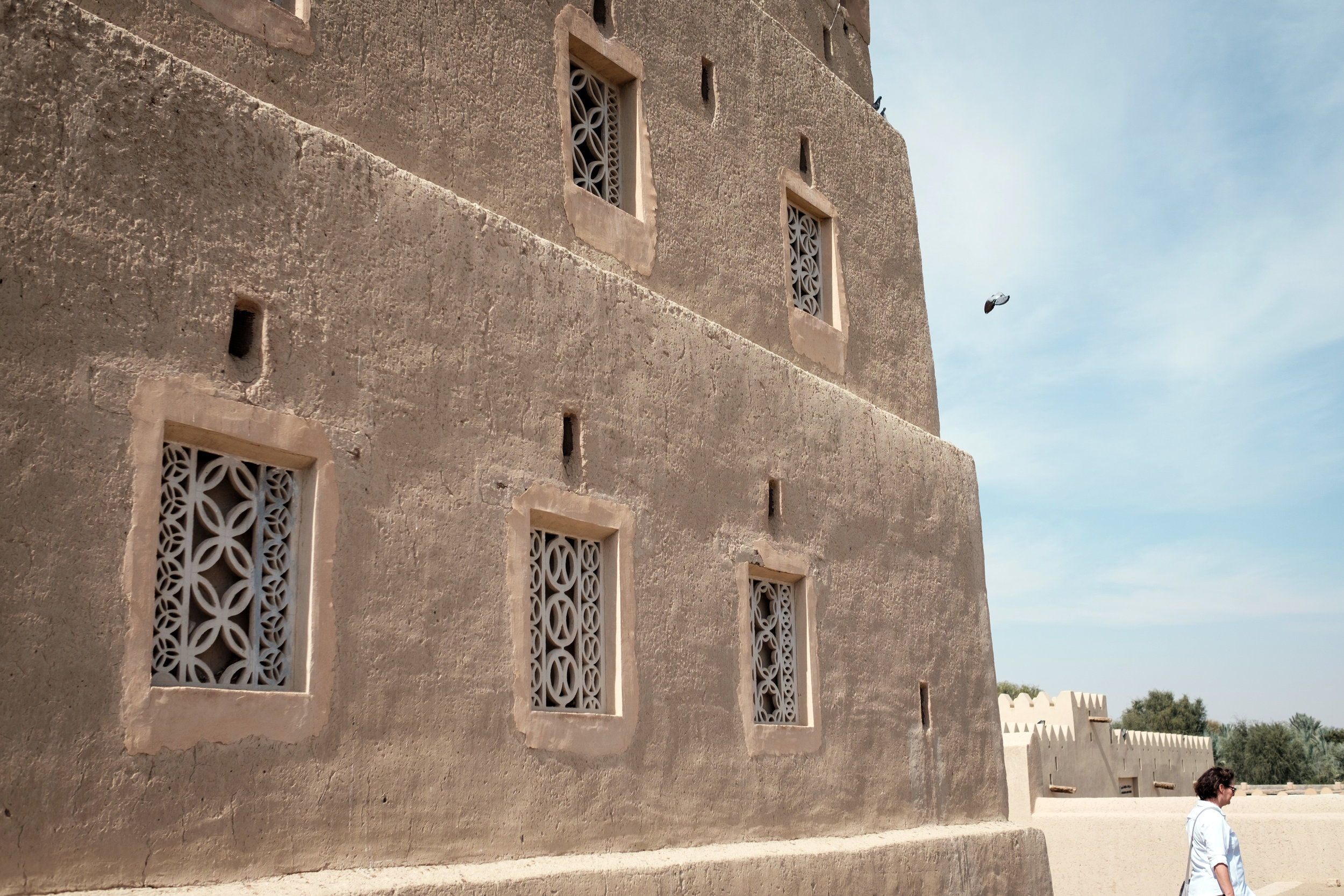 The fort at Al Qattara Arts Centre