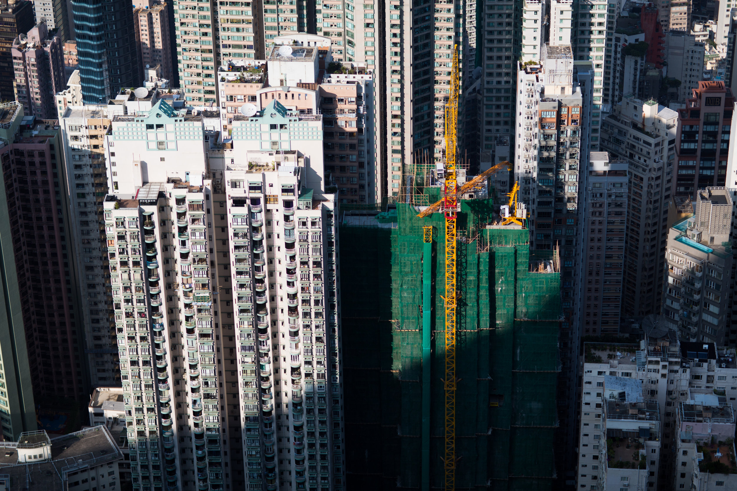 Hong Kong Skyscrapers and Construction
