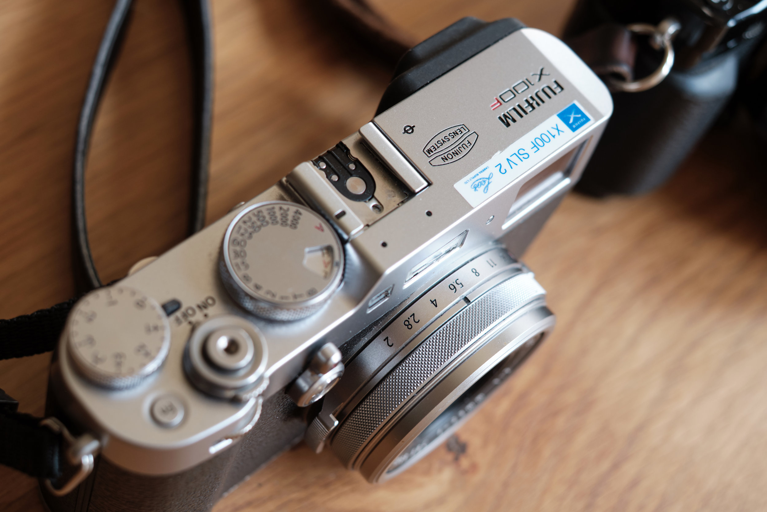 Fujifilm X 100 F ready for action