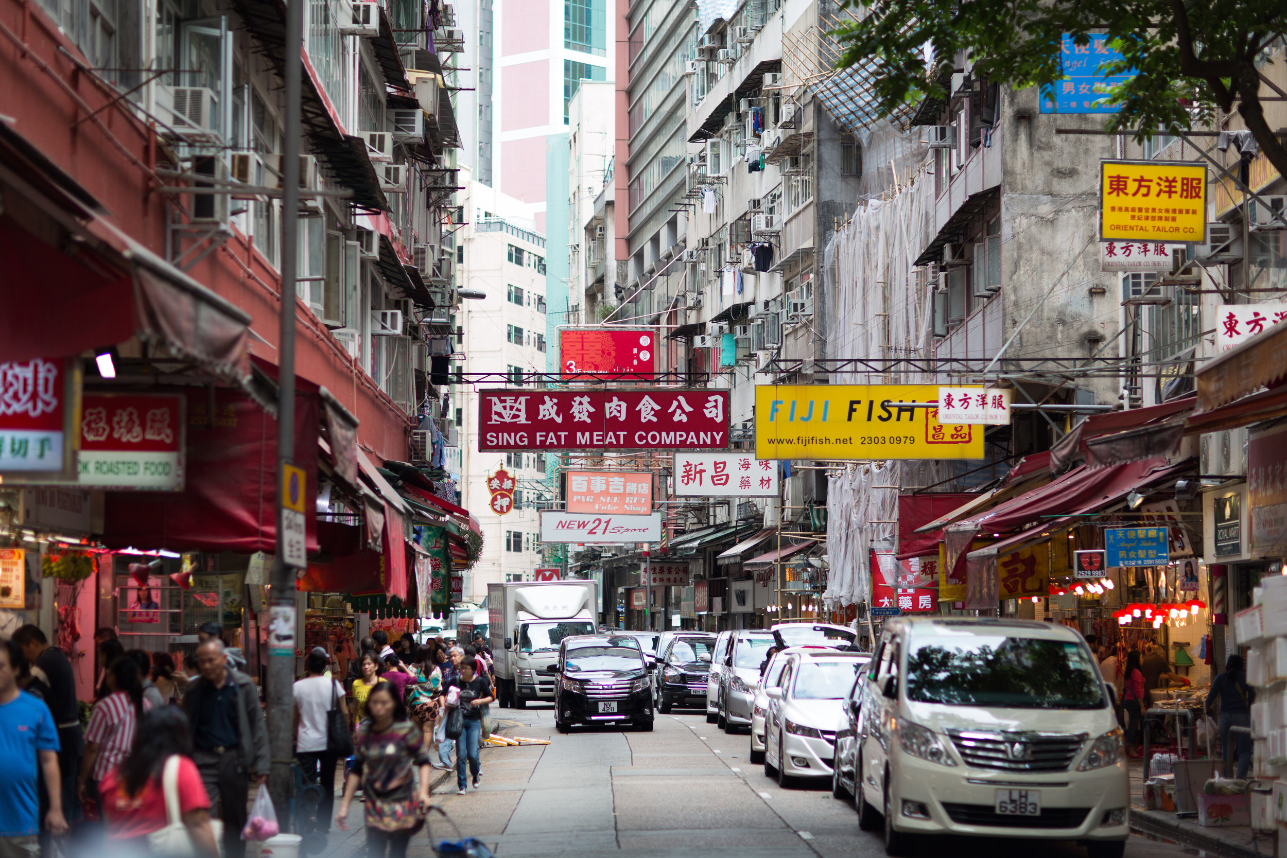Food Markets in Wan Chai