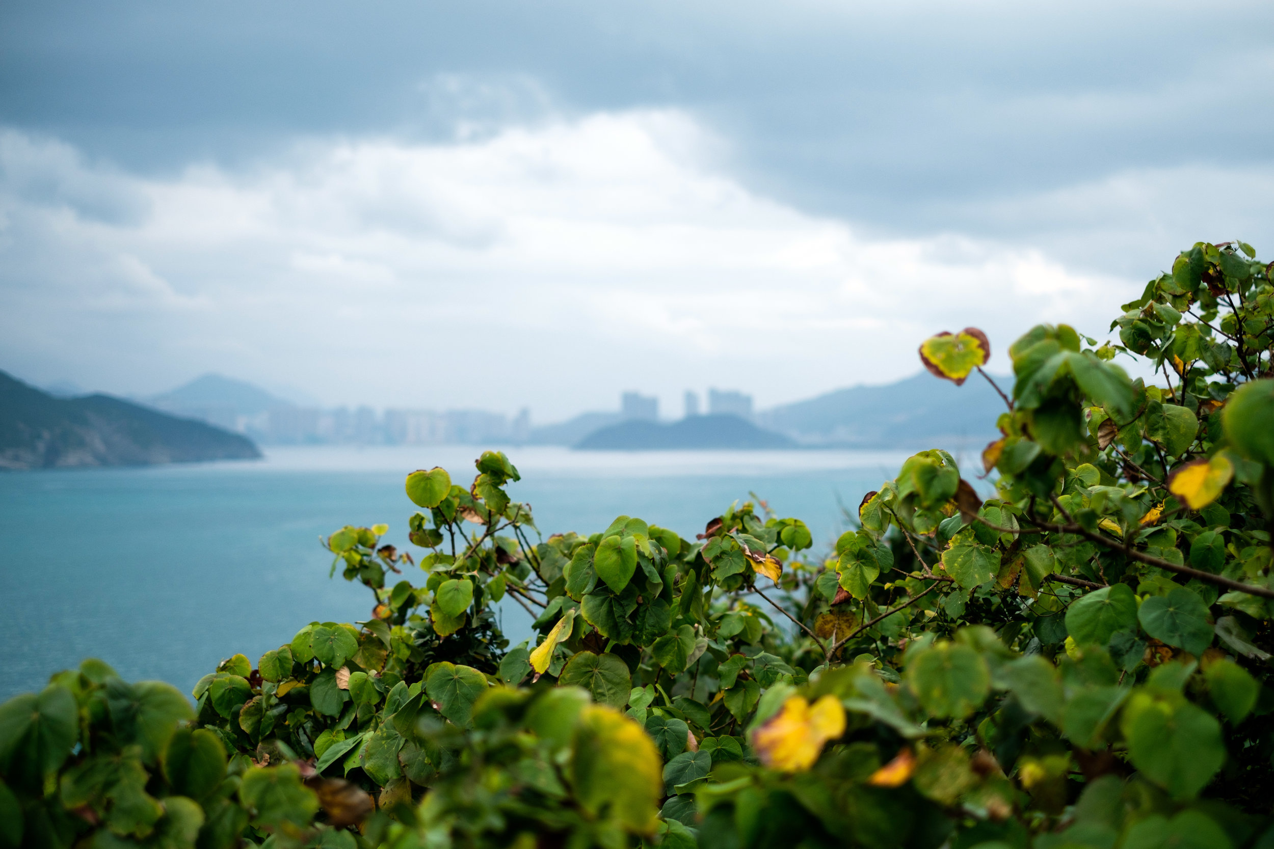 View from Prospect Point in Shek O, Hong Kong