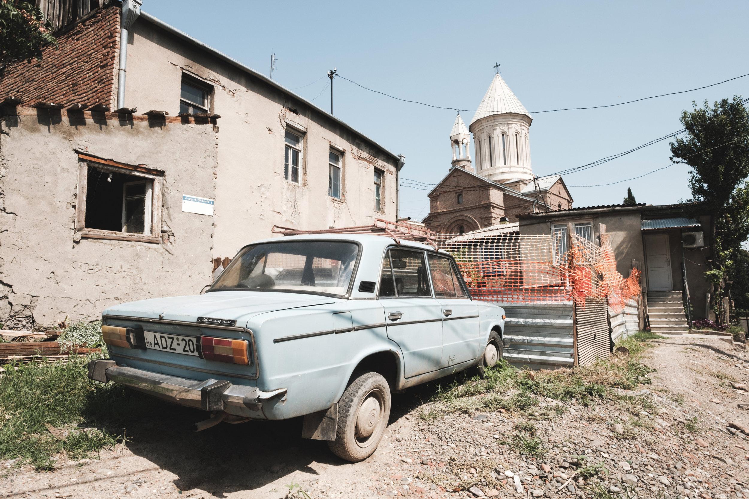 Tbilisi, Georgia , Fujifilm X-Pro2, XF 14mm f/2.8 R @ f/11