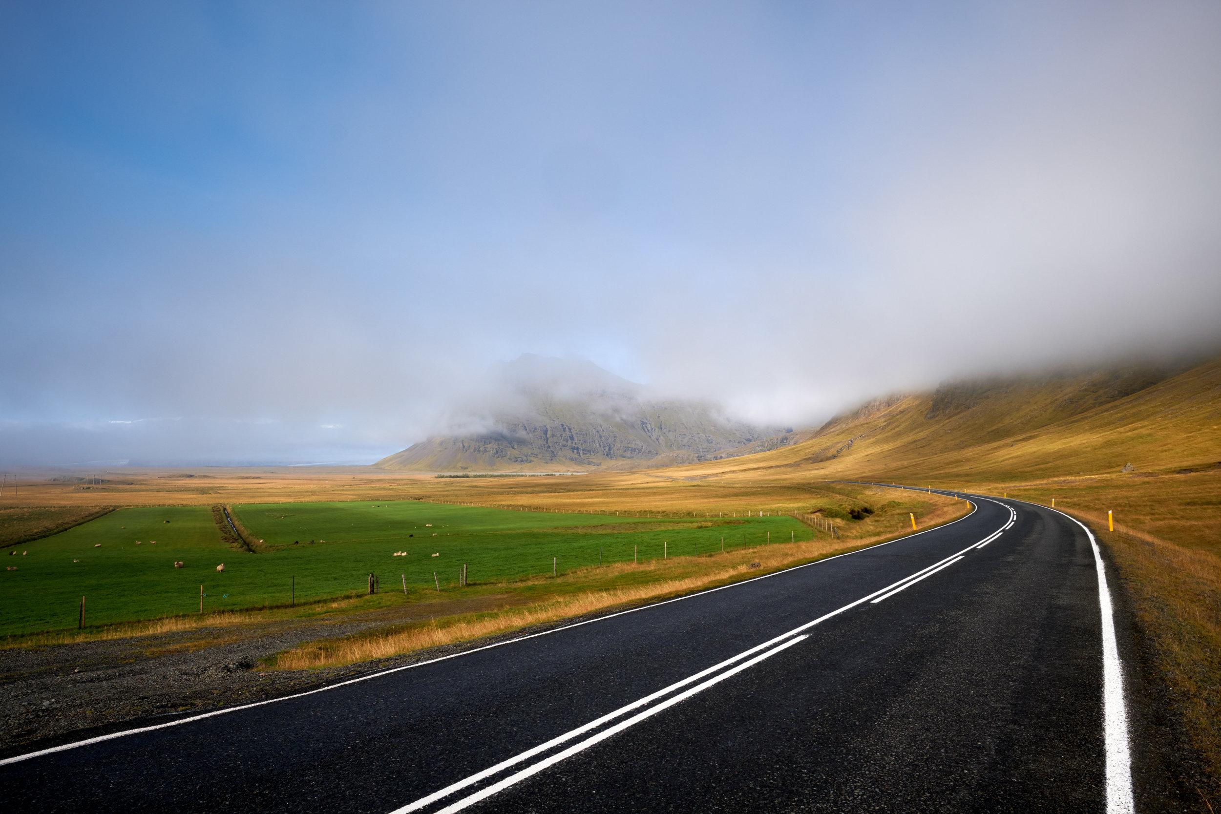 Highway 1,  Iceland , Fujifilm X-H1, XF 14mm f/2.8 R @ f/11