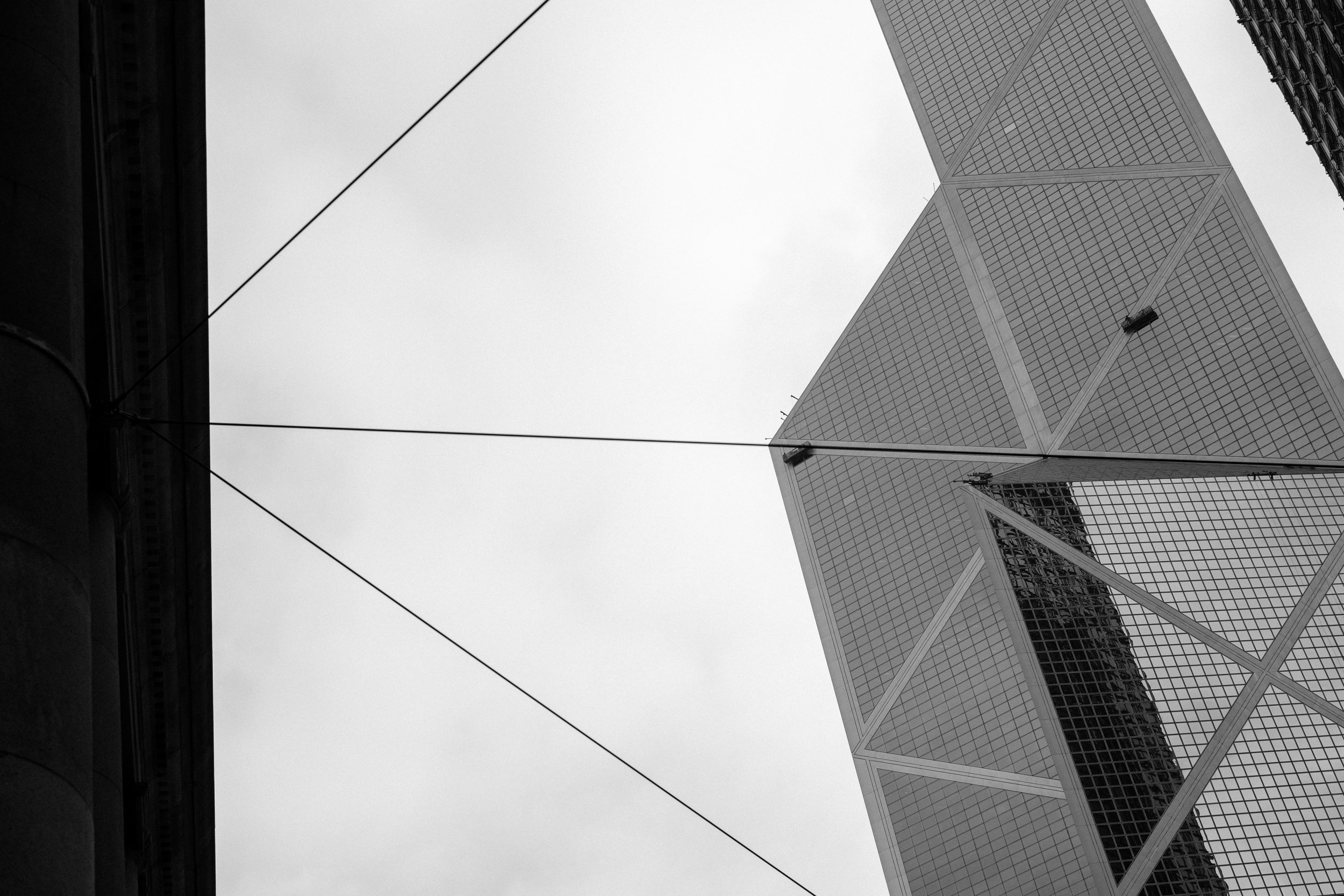 The Bank of China building in the Central District of Hong Kong