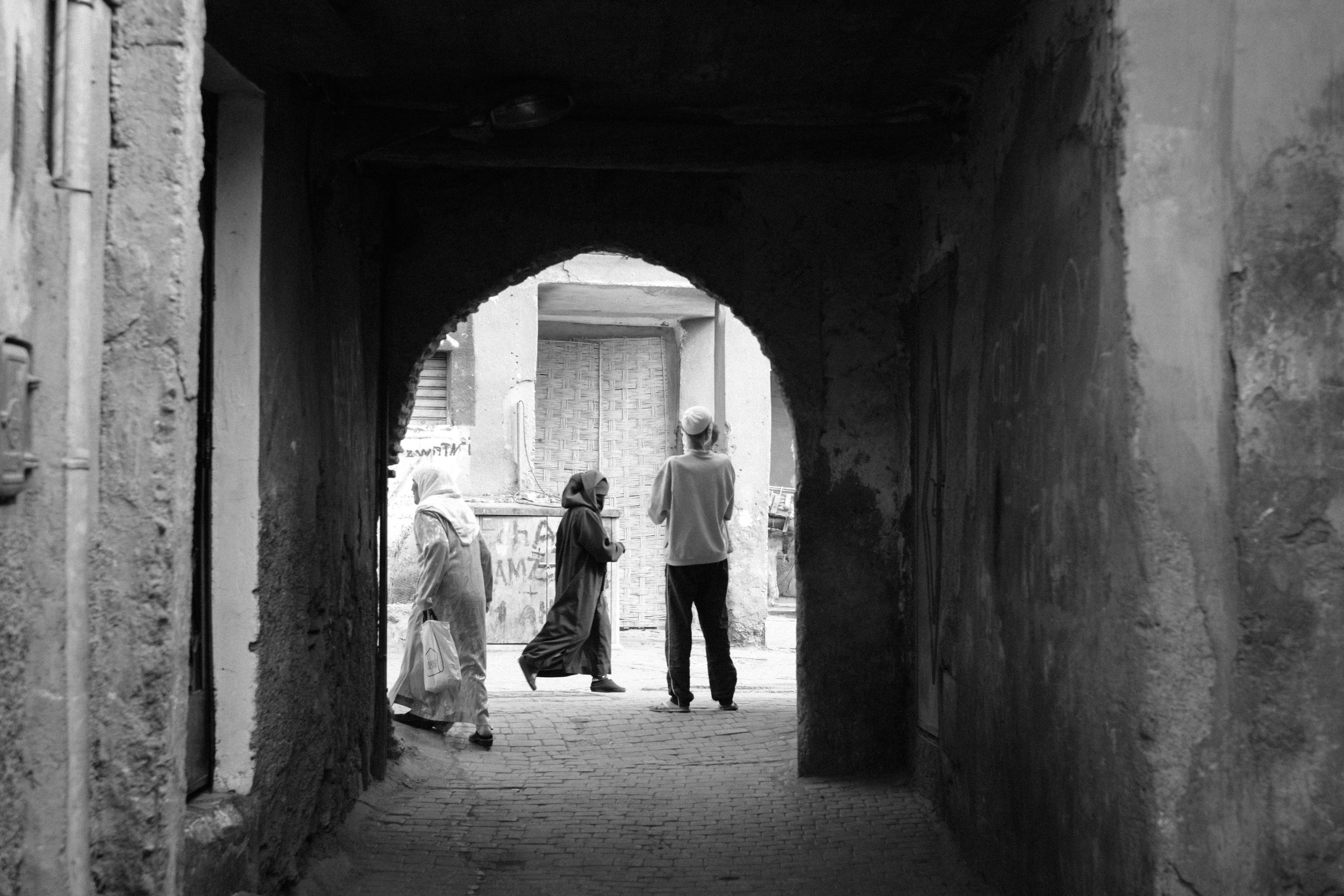 Street Photography in Marrakech Morocco