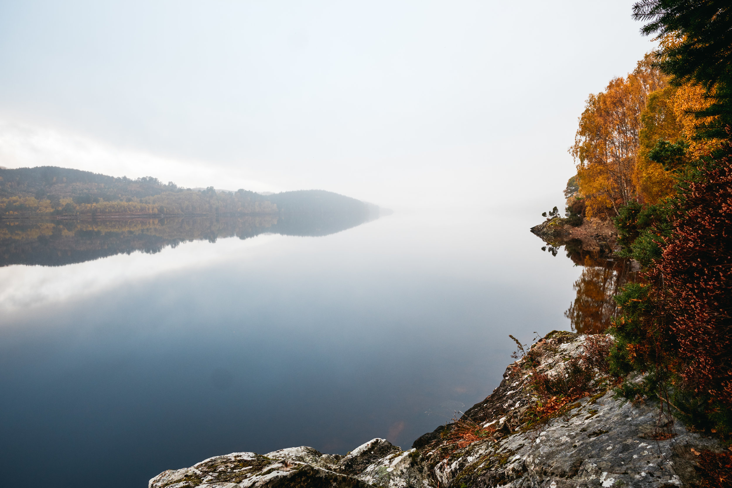 Lake in the Scottish Highlands