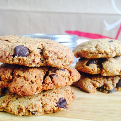 Chocolate Chip Coconut Sugar Cookies