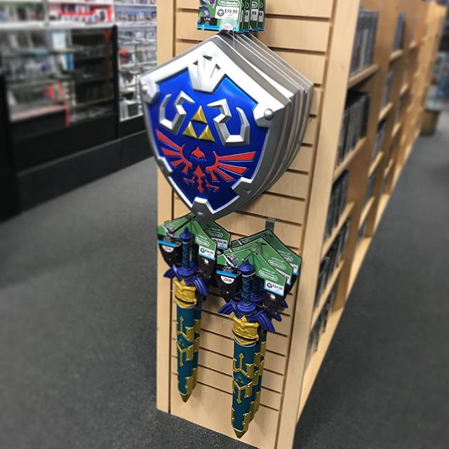 LINK ACCOUTREMENTS! Must have for Christmas! #gameboxvideogamesandcomics #link #zelda #nintendo