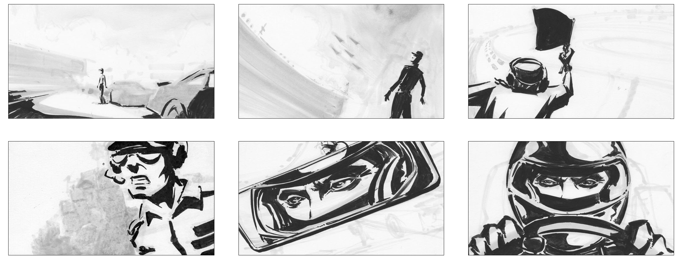 The Art of Jeremy Rumas_Jeremy Rumas Storyboards_NYC_television_commercial storyboards_ink and brush_Nascar_b_www_jeremyrumas_com.jpg
