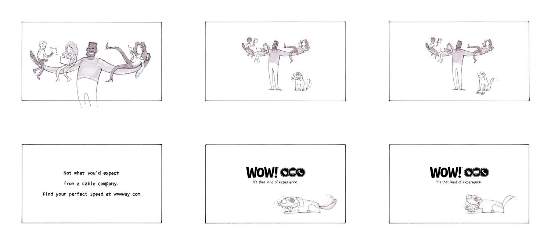 WOW Stacked 03 + Prismacolor Marker + TV commercial storyboards + NYC storyboard artist + NYC storyboards + the Art of Jeremy Rumas + www.jeremyrumas.com.jpg